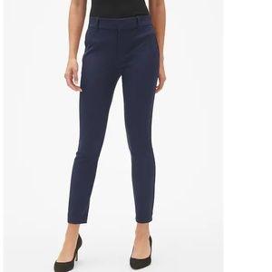 NWT Gap Skinny Ankle Smoothing Pants 4 Blue c651